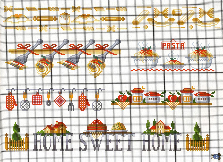 CATEGORIA : Schemi Misti SCHEMA NUM. : 4311 NOME : Pasta 01  #B93112 1500 1089 Immagini Di Cucine Open Space