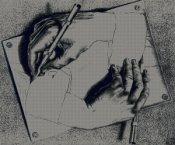 pittori_moderni/escher/escher-drawing-hands-300.jpg